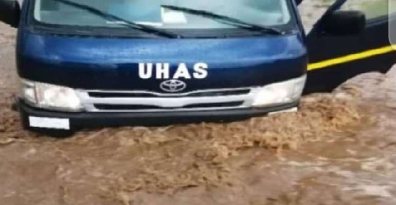 UHAS roads pathetically inaccessible, fix it – NDC to gov't