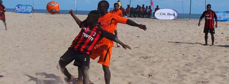 Ghana Beach Soccer Attracts Kasapreko Sponsorship