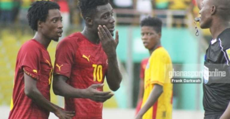 Black Stars B to play Inter Allies in warm up game today