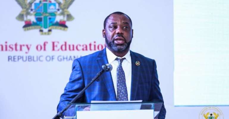Dr Mathew Opoku Prempeh, Education minister