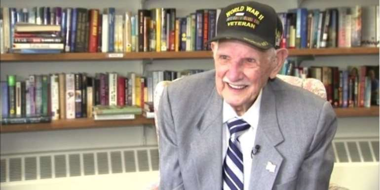 94-Year-Old World War II Veteran Obtains High School Diploma