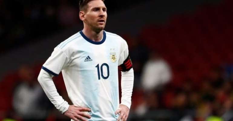 Messi hasn't won any trophy with Argentina
