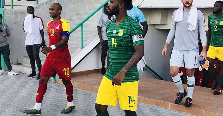 MATCH REPORT: Ghana 0-0 South Africa – Black Stars Wrap Up Friendlies Ahead Of 2019 AFCON
