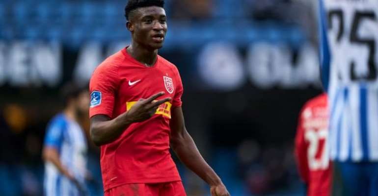 AC Milan Interested In Signing Ghana's Kudus Mohammed