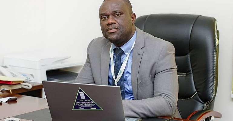 CEO Of Leverage Microfinance Co. Ltd., Gilbert K. N. Adamtey