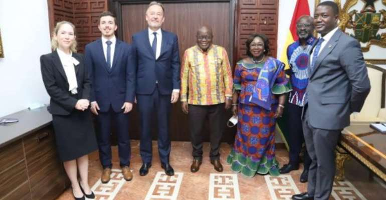 'You've been extremely successful' — Akufo-Addo bids farewell to UK, German envoys