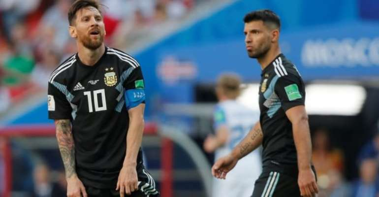 Messi Misses Penalty As Argentina Held By Iceland