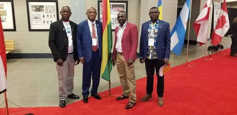 Tarkwa MCE attends Global Petroleum Show in Canada