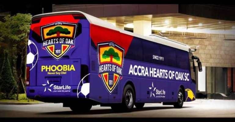 Togbe Afede XIV Insists Arrival Of Hearts Oak's Bus Has Been Delayed By Covid-19