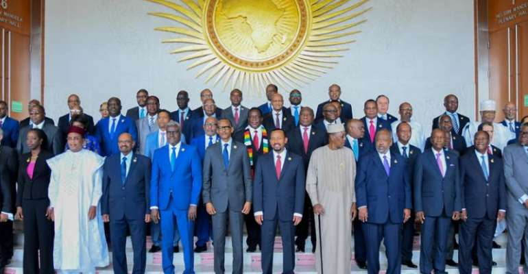 """The Scramble For Africa: """"A Call For Unity Among African's States"""""""