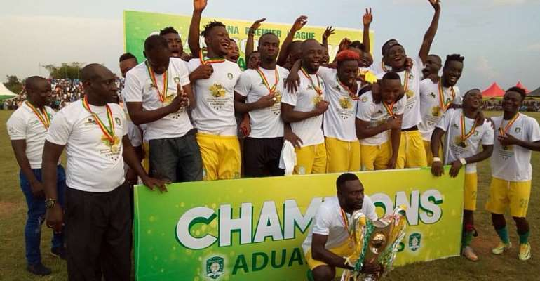 GFA Must Declare Aduana Stars Champions If GPL Season Can't Be Continued - Yahaya Mohammed