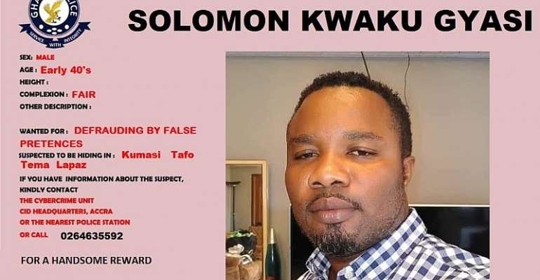 Pastor Mike aka Sabruku declared wanted by Police Cyber Crime Unit over US$200,000 fraud
