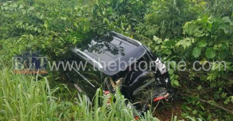 E/R: Okyehene Involved In An Accident