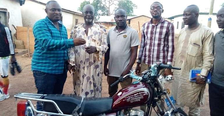 Savannah Region: NPP Youth Organizer Donates Motorbike To Party