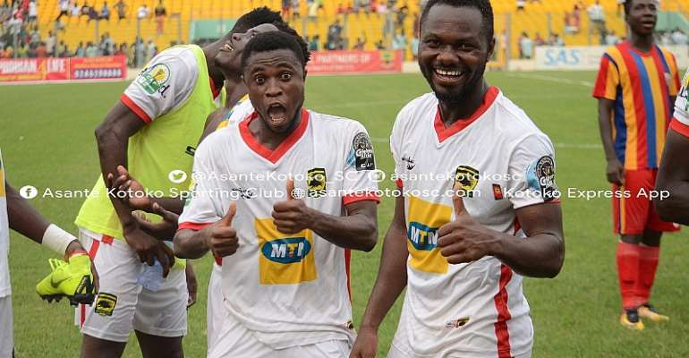 Sarfo Duku Believes Kotoko Relied On Experience To Beat Hearts On Sunday