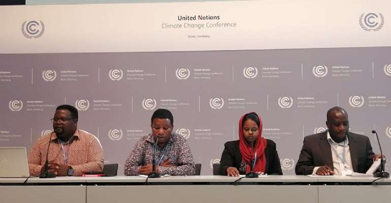 African civil society reflects on Bonn Climate Change Negotiations
