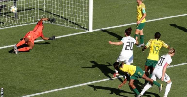 Women's World Cup: South Africa Crush Out Of Tourney After Losing 4-0 To Germany