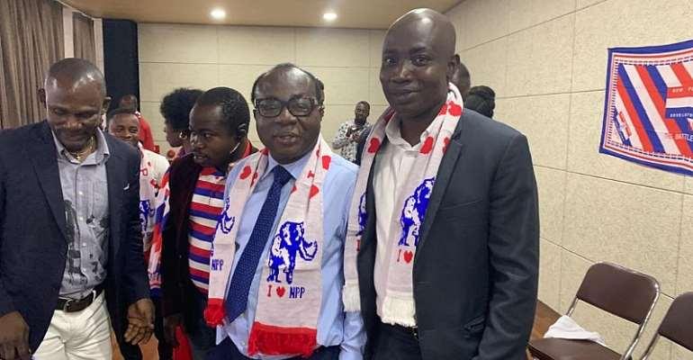 Nkoranza North Constituency: Japan NPP Branch First Vice Chairman Endorses Jacqueline Boatemaa Bonsu