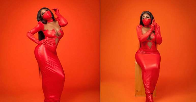 Yvonne Jegede: Lady In Red Attempts To Break The Internet With New Pictures