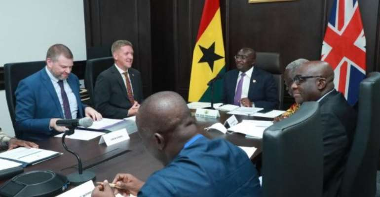Bawumia, UK Minister for Africa co-chair fifth UK-Ghana Business Council