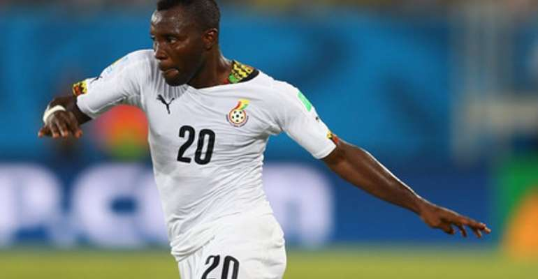 CONFIRMED: Kwadwo Asamoah To Operate From Midfield At 2019 AFCON