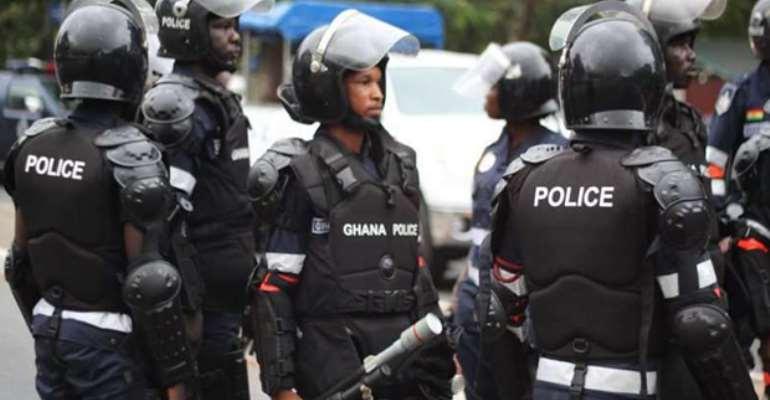 Police Chases Boy Killer In Ashaiman