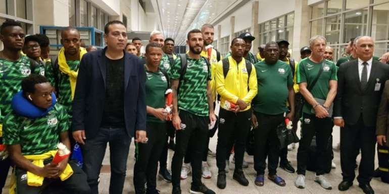 AFCON 2019: South Africa Arrive In Egypt For Tournament