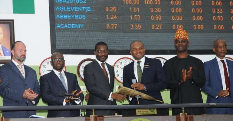 Nigerian Stock Exchange Lists Additional 1,880,000,000 Shares