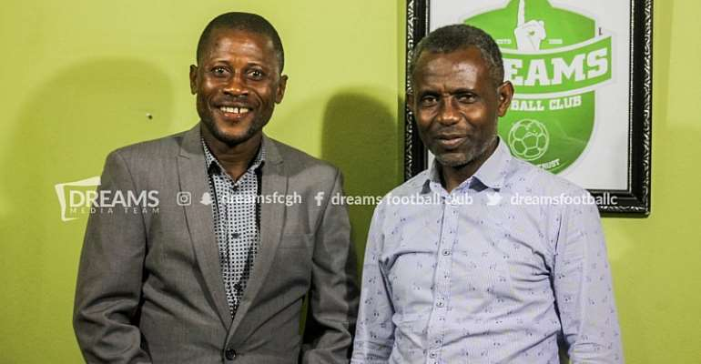 Dreams Fc Appoints Winfred Dormon As Substantive Manager