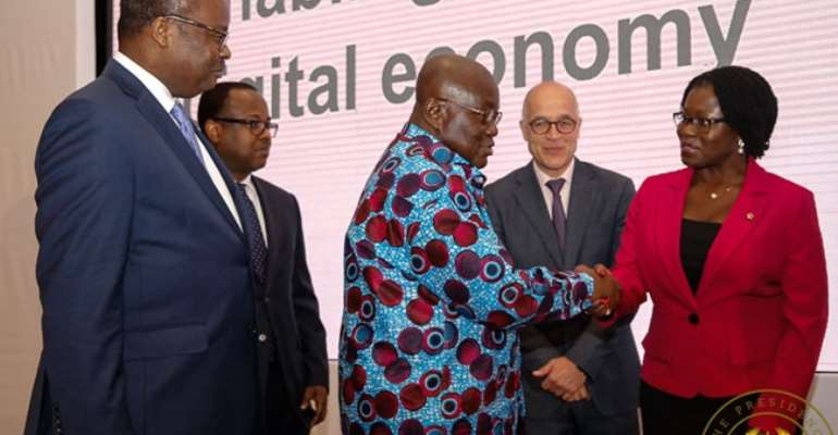 Our Digital Smartness Sustaining Economic Growth – Akufo-Addo