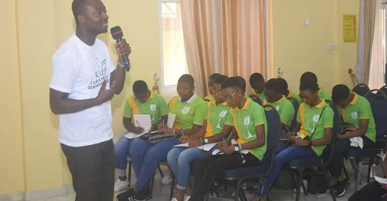 FOGET Urges SHS, JHS Leavers To Engage Their Time In Productive Activities