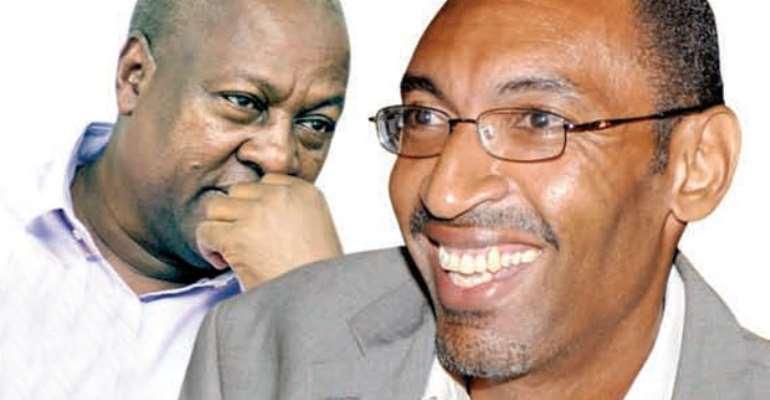 John Mahama and Sekou Nkrumah