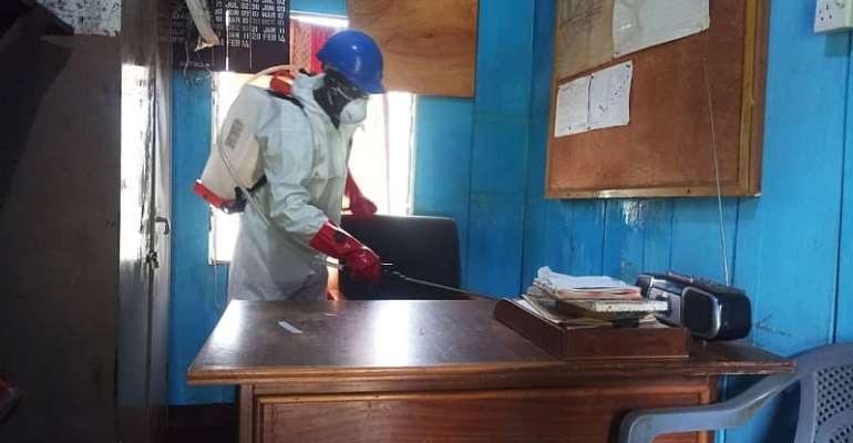 Ashanti Region: Zoomlion Disinfects 3,000 Military Facilities Again
