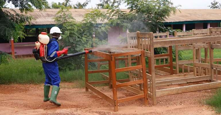 Schools In Eastern Region Undergo Mass Disinfection Ahead Of Reopening
