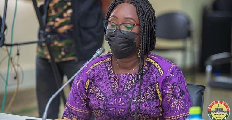 Gifty Twum-Ampofo dropped from list of deputy minister nominees to be approved