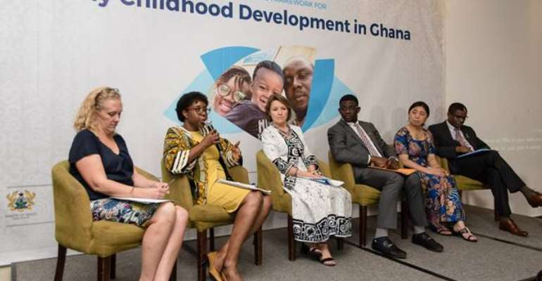 Ghana Launches Nurturing Care Framework for Early Childhood Development