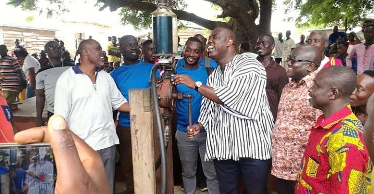 Gomoa East MP Donates Premix Fuel To 2,500 Fishermen