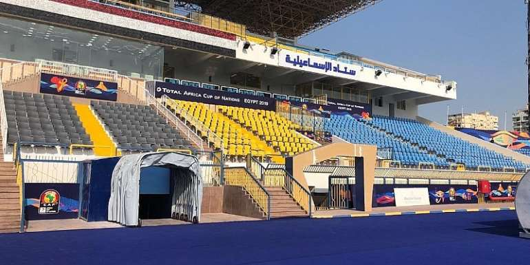 AFCON 2019: Ismailia Stadium Ready To Host Ghana's Group Matches [PHOTOS]