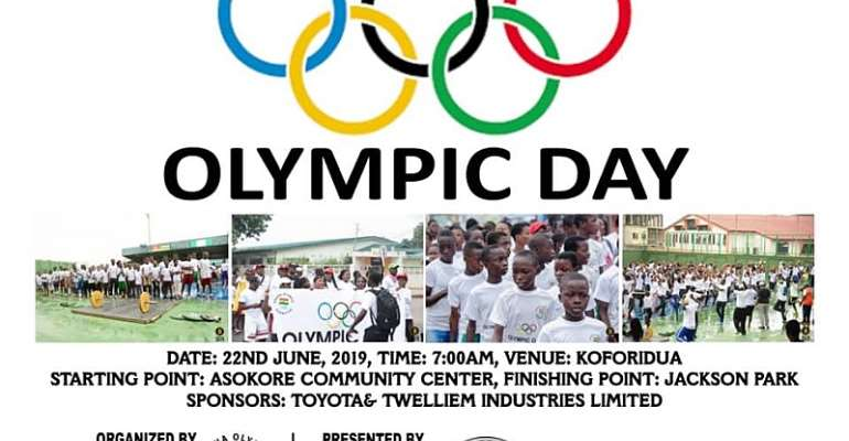 Toyota And Twellium Industries To Support 2019 Olympic Day Run