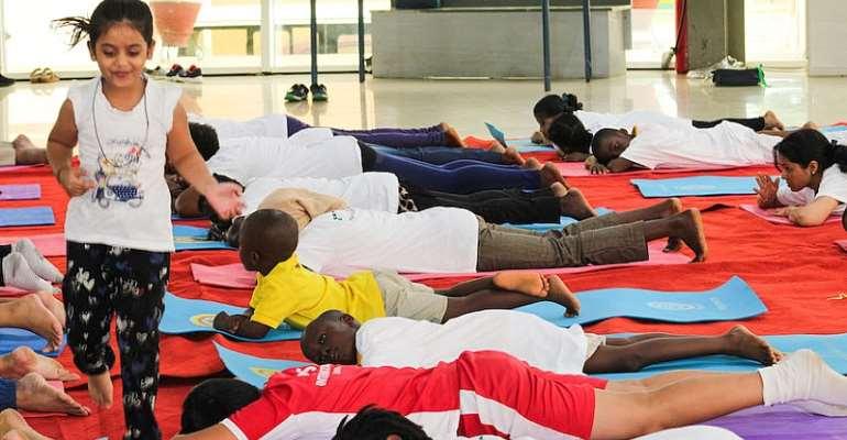 DPS International Holds 2019 Yoga Day
