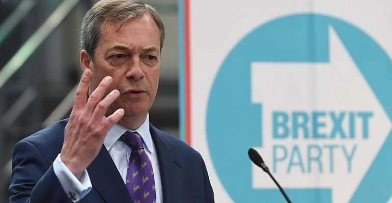 Nigel Farage's Grand Tour of Sabotage: The Paypal of the People Rides High
