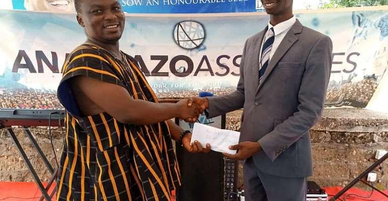 Hon Addai-Nimoh Supports Lighthouse Chapel Atwima Koforidua Branch