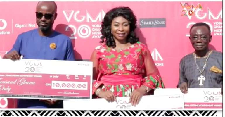 VGMA Lifetime Achievement Winners Receive GH¢10K
