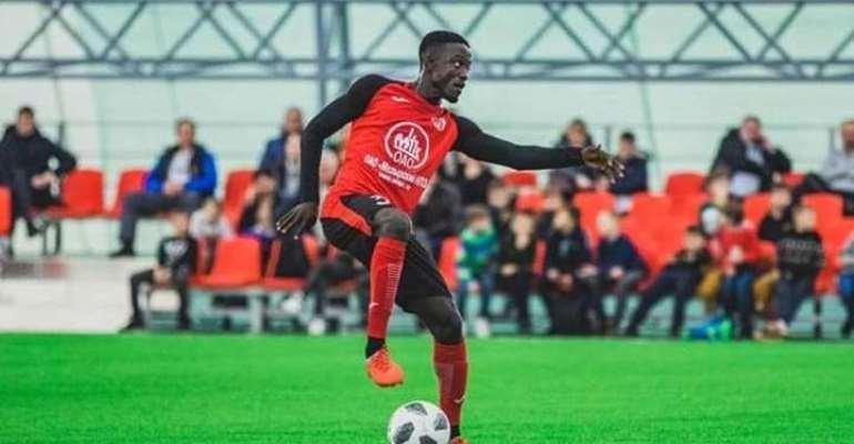 Slavia Mozyr Mutually Terminates Contract Of James Kotei
