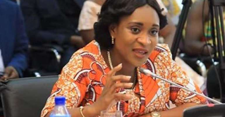 Member of Parliament for Atiwa East Constituency, Hon Abena Osei Asare
