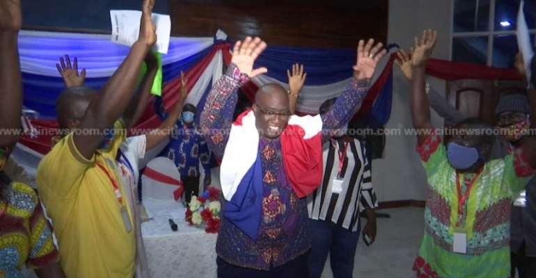 Essikado-Ketan NPP Delegates Acclaim Joe Ghartey For 5th Term Bid