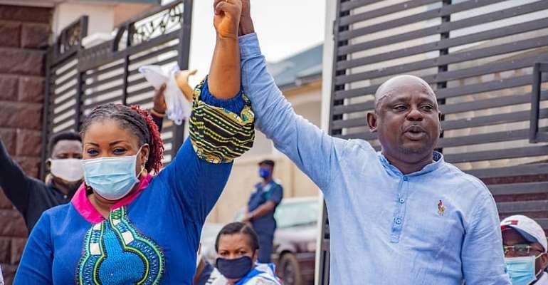 NPP Akuapim North Affirm Nana Ama Dokua As Parliamentary Candidate
