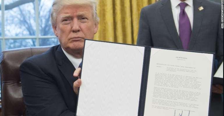 Trump authorizes sanctions against International Criminal Court officials -CNN
