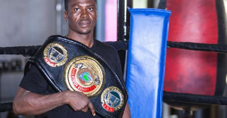 Gov't Must Make Boxing Attractive To Youth - Dodzi Kemeh