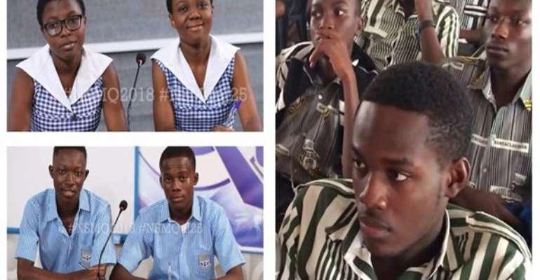 NSMQ knockout stage; Adisadel vs Osei Tutu vs Ola; the contest to watch Today